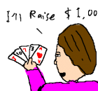 Bluffing on the Flop in Poker